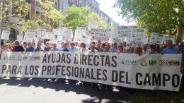 manifestación Castilla y León