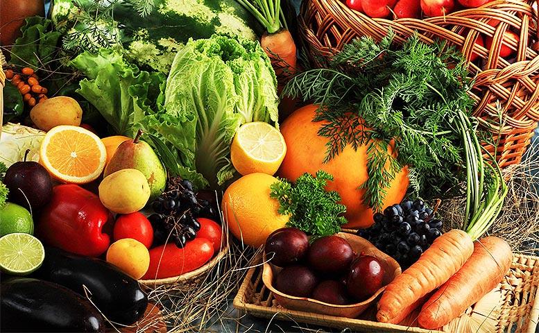 frutas verduras y legumbres