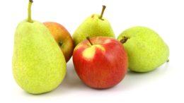 Producción pera manzana