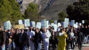 Manifestación Guadalest