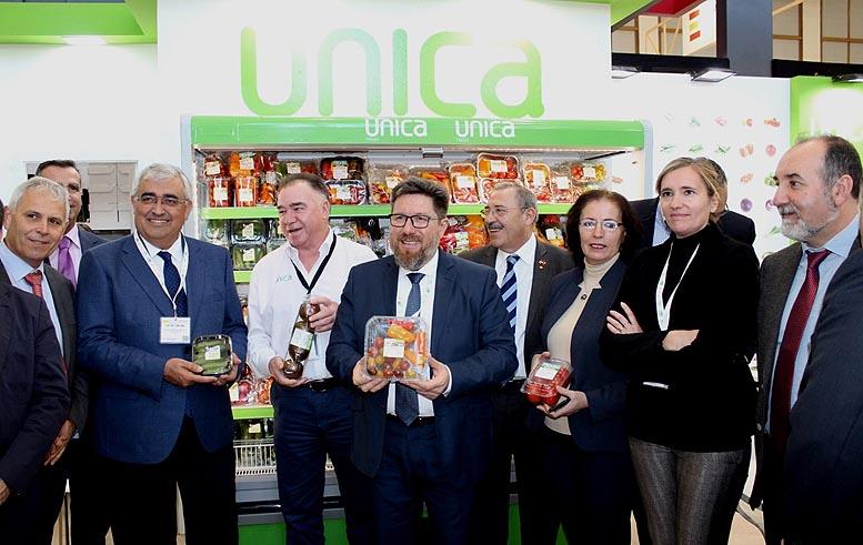 exportaciones frutas hortalizas Andalucía