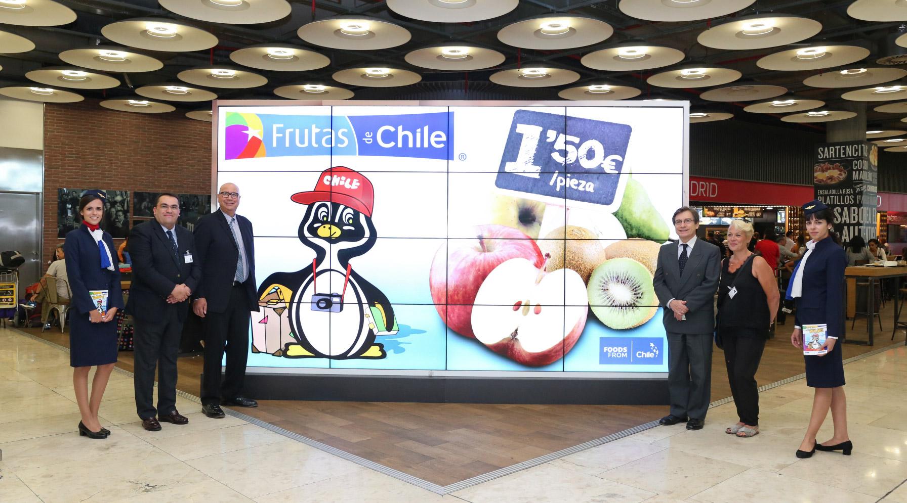 Frutas de Chile promoción España