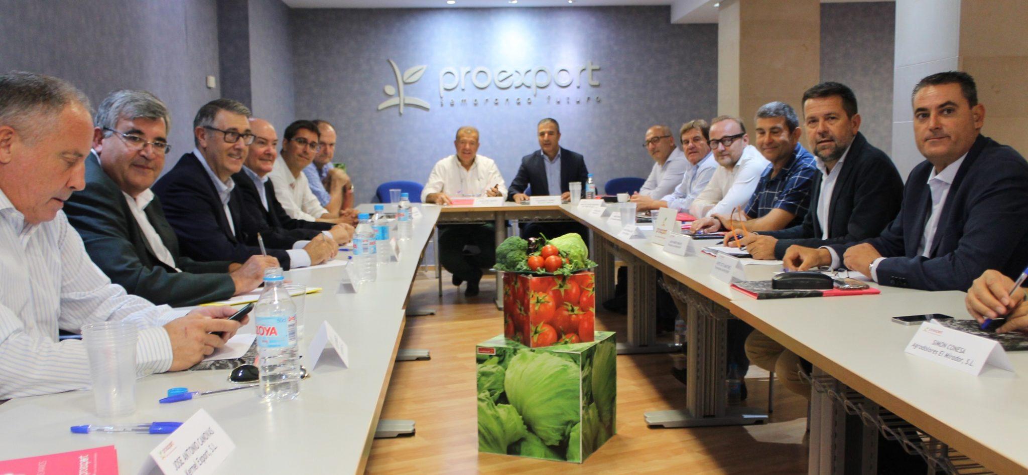 Reunión Proexport y CHS