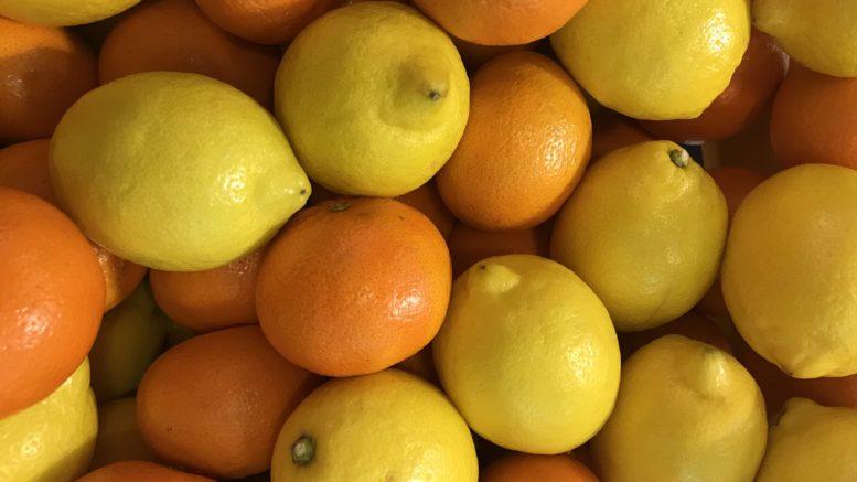 Mandarinas limones