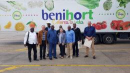 Benihort visita Congo