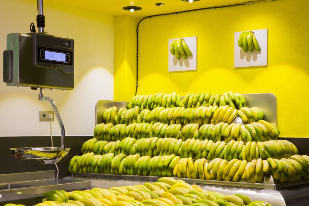 conservar los plátanos en verano