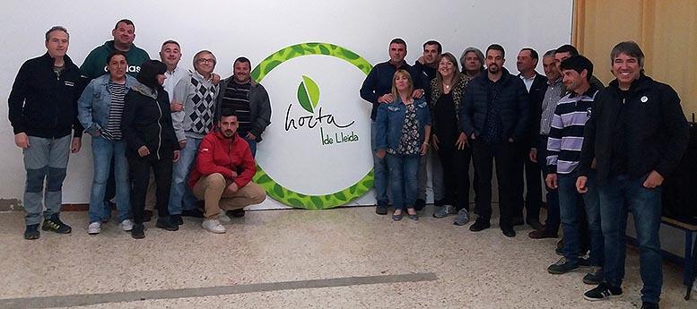 productores de la huerta de LLeida