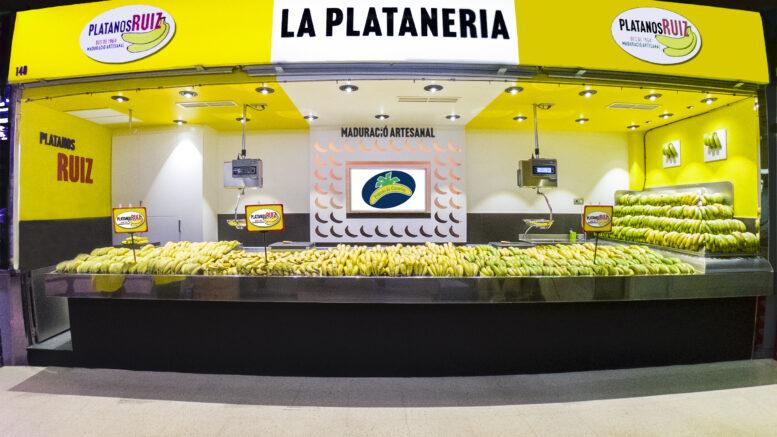 Plátano de Canarias en Mercabarna
