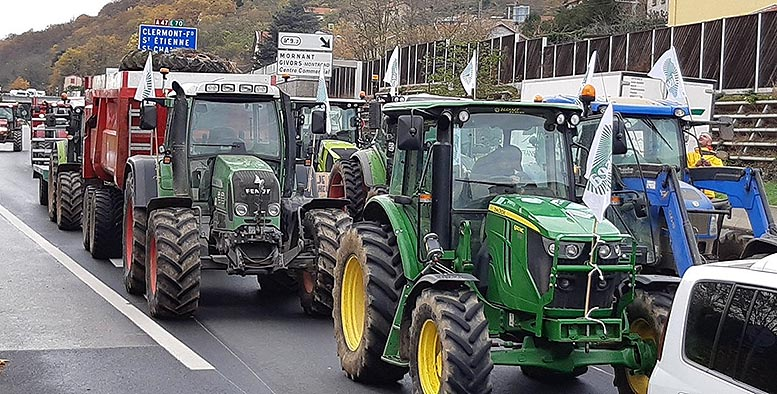 Agricultores París