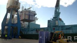 puerto exportación cítricos