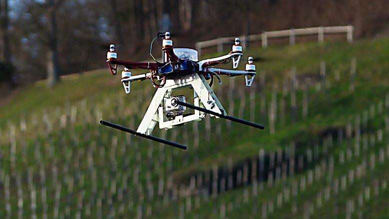 tratamientos fitosanitarios drones