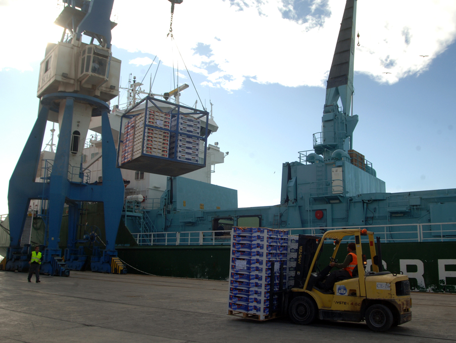 puerto exportación cítricos aranceles