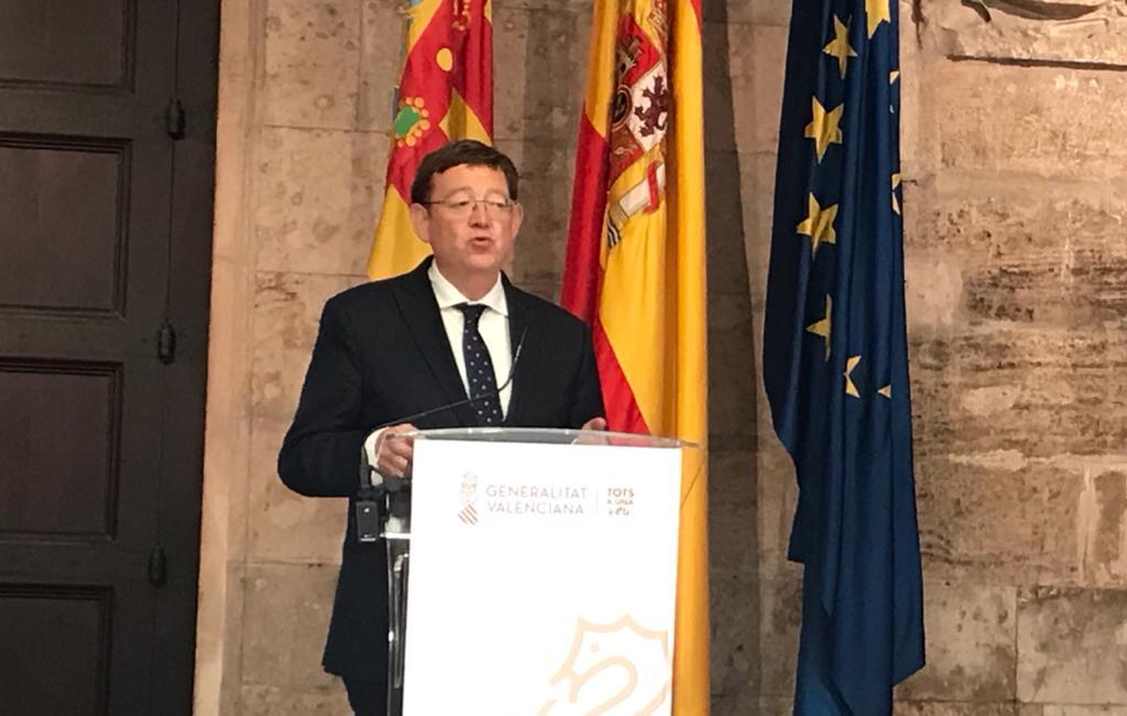 Ximo Puig president GVA Generalitat