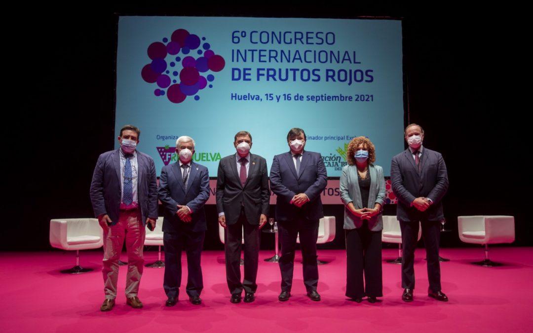 VI Congreso Internacional de Frutos Rojos: salud, bienestar y nuevos mercados